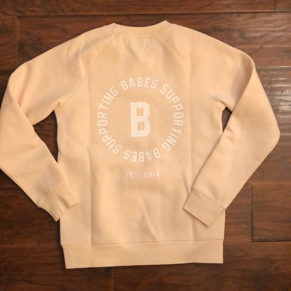 1x LEFT 🌟BABES SUPPORTING BABES sweatshirt